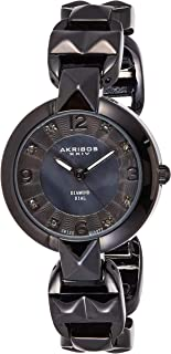 Akribos XXIV Women's Empire Analogue Display Quartz Watch with Alloy Bracelet
