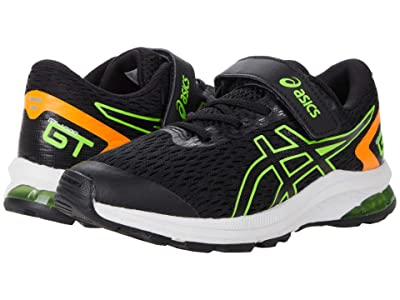 ASICS Kids GT-1000 9 (Toddler/Little Kid) (Black/Green Gecko) Boys Shoes