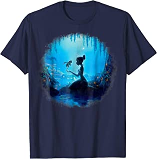 Princess And The Frog Swamp Night Graphic T-Shirt