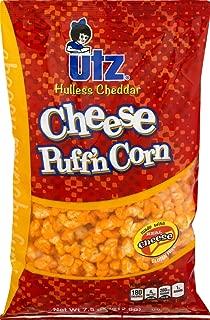 Utz Hulless Cheddar Cheese Puff'n Corn- 7.5 oz. Bags (3 Bags)
