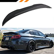 Cuztom Tuning Fits for 2011-2016 BMW F10 528i 535i 535d 550i M5 Carbon Fiber PSM Style High Kick Trunk Spoiler Wing