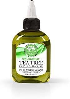 Ethereal Nature Hair Oil Tea Tree 75 Ml