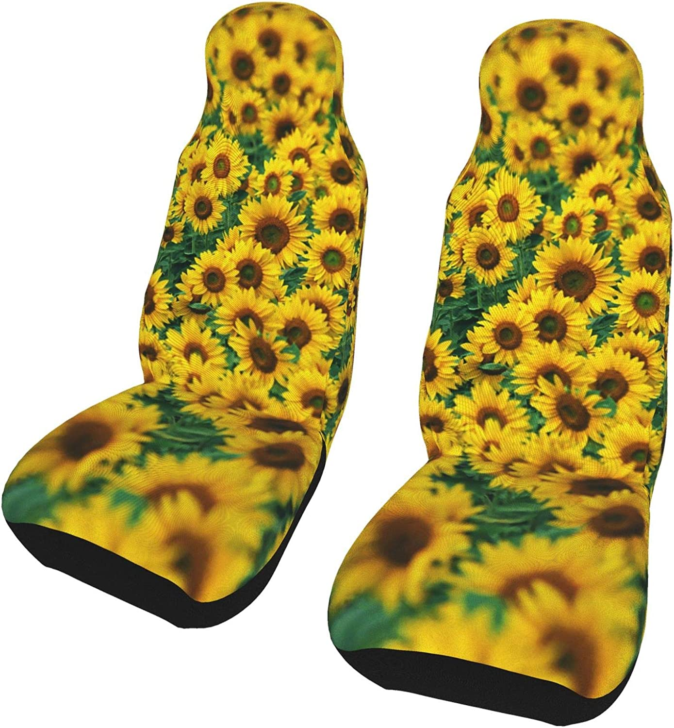 Car Seat supreme Cover for Men Women Scenery Outstanding Pac Sunflowers Automotive 2