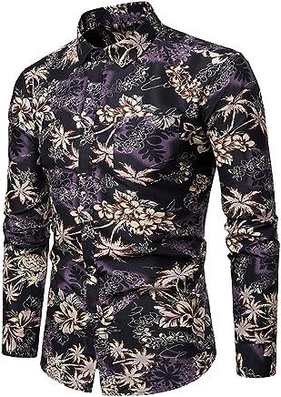 Beeatree Men Buttoned Leisure Short Sleeve Summer Lattice Detail Shirts