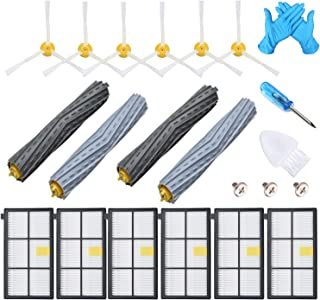 JoyBros 16-Pack Replacement Parts Compatible for iRobot Roomba Accessories 980 860 870 880 890 895 960 Hepa Filter Brush Roller Vacuum Replenishment Kit
