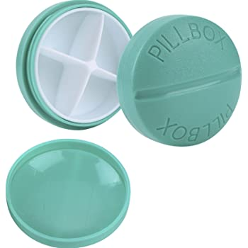 Pastillero Caja de Medicina Organizador de Pastillas de Plástico ...