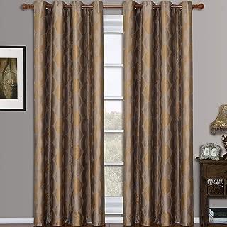 Best maroon window curtains Reviews