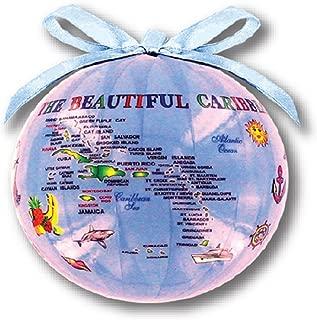 Rockin Gear Christmas Ornament Ball - Caribbean Souvenir Gift and Christmas Tree Decoration (Caribbean)