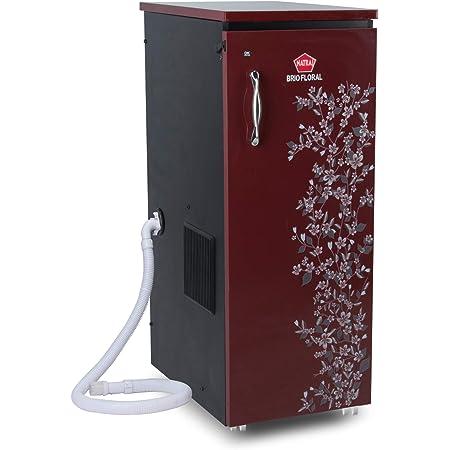Natraj BRIO Aata Chakki Ghar Ghanti Automatic Domestic Flourmill With Easy Clean Vacuum Cleaner Red Matt & High Gloss Finish