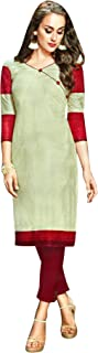 Womens Causal Printed 100% Cotton Kurtis Tunic Womens Top
