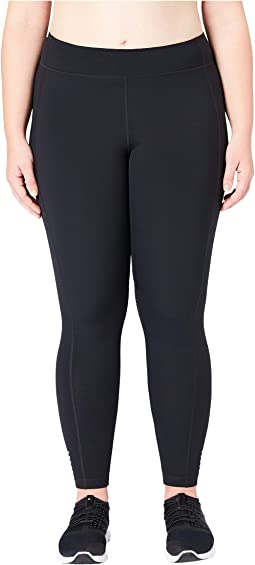Flashflex Plus Size Medium Waist Run Leggings