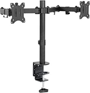VIVO Quad LCD Monitor Desk Mount Stand Heavy Duty Fully Adjustable fits 4 /Four Screens