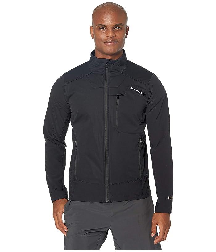 Ascender GTX Infinium Full Zip Fleece Jacket (Black) Men's Coat