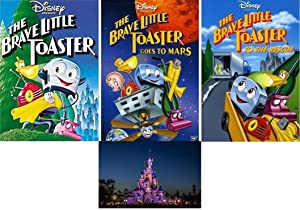 The Brave Little Toaster/Goes to Mars/ To The Rescue 1 2 3 Trilogy (3 DVD SET) and Bonus Glossy Print Art Card