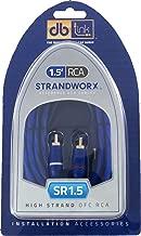 Strandworx SR1.5 1.5-Feet Audio RCA