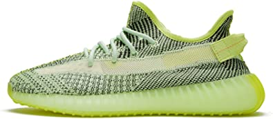 Amazon.com | adidas Mens Yeezy Boost 350 V2 Butter Woven | Road ...
