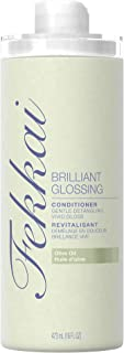 Fekkai Brilliant Glossing Hair Conditioner | Gentle Detangling, Vivid Gloss | Infused with Sun-Ripened Olive Oil | Fresh Floral Garden Scent | 473 mL / 16 fl oz