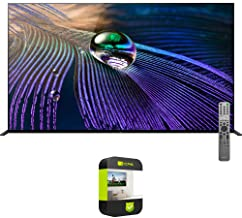Sony XR55A90J 55 inch OLED 4K HDR Ultra Smart TV 2021 Model Bundle with 1 Year Extended Protection Plan