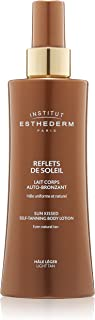 Institut Esthederm Light Tan Self-Tanning Body Lotion, hydrates and  brightens the skin for a light and ultra-natural tan - 1.67oz
