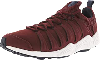 Nike Mens Air Zoom Spirimic Premium Running Sport Shoes - Size: 11.5 US or 29.5 cm - Color: Burgundy/White