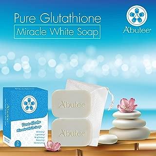 A'butee Pure Gluta Miracle White Soap-Natural Skin Whitening-Lightening-Brightening-Repairing-Moisturizing (Pure Gluta)