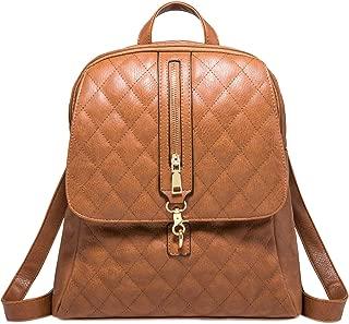 PU Leather Backpack Girls School Daypacks for Women