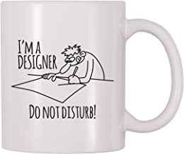 4 All Times Im A Designer Do Not Disturb Coffee Mug (11 oz)