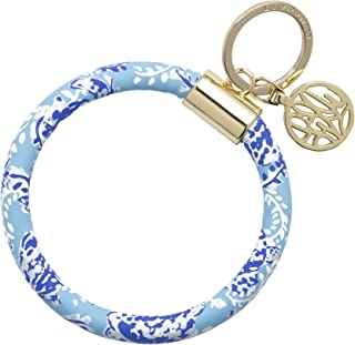 Lilly Pulitzer Bracelet Key Ring Chain