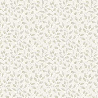 A-Street Prints 2948-33015 Posey White Vines Wallpaper,
