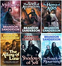 Mistborn Series Six Book Collection Set ( Books 1- 6 )