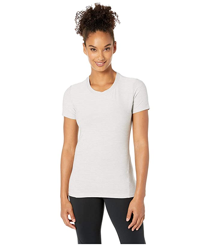 SHAPE Activewear Trail Tee (White Heather) Women