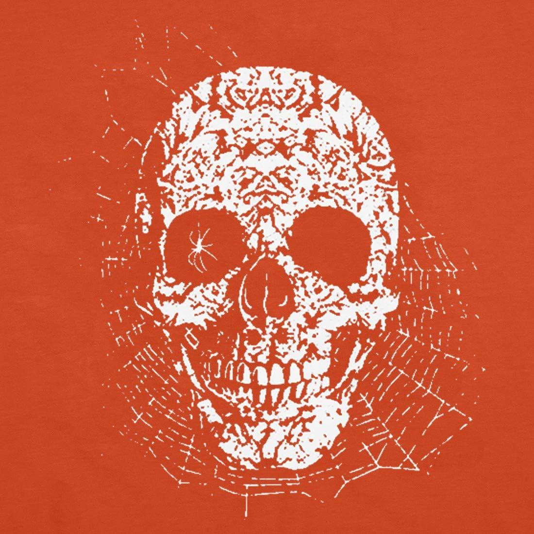MOUSYA Skeleton Shirt Women Halloween Graphic Tees Skull Printed Halloween T-Shirt Novelty Halloween Shirt