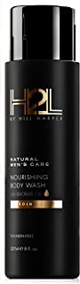 H2L Premium Nourishing Body Wash - With Baobab, Sweet Almond, Avocado and Chia Seed Oils. For Men By Hill Harper (1 Bottle)