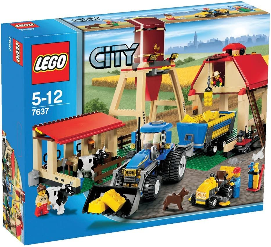 Lego City Award-winning store Set #7637 cheap Farm