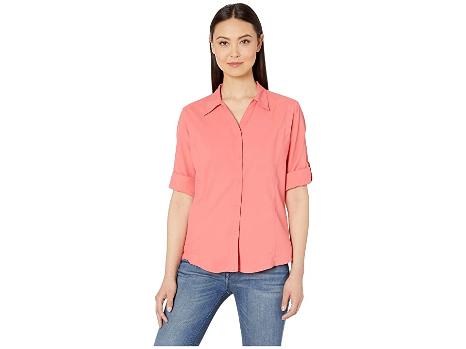 Royal Robbins Expedition Chill Stretch 3/4 Sleeve Top (Grenadine) Women