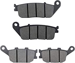Cyleto Front and Rear Brake Pads for Honda CTX1300 20114 CTX 1300 DLX ABS 2014
