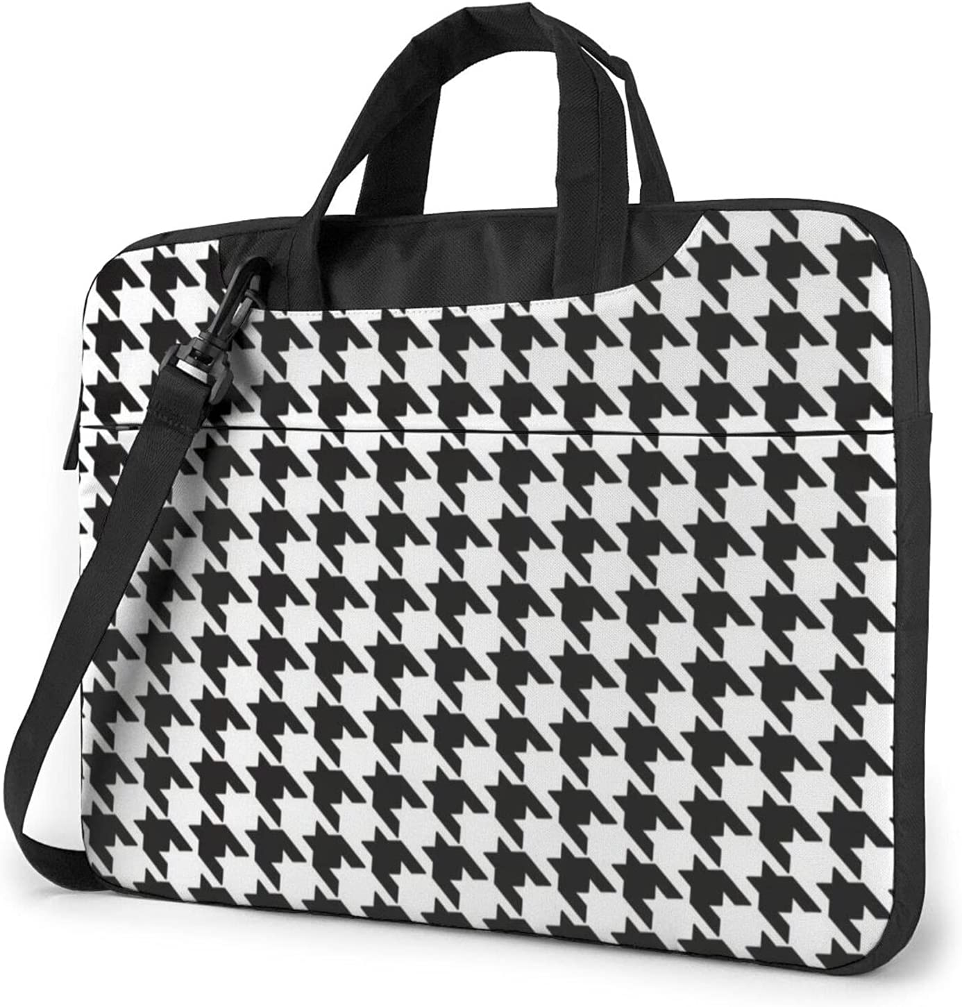 Black White Classic Slim Briefcase Shoulder Crossbody Max 41% OFF Las Vegas Mall Bag Desig