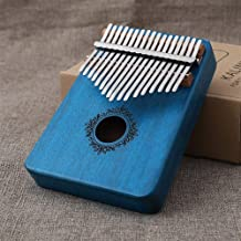 MAODOXIANG Thumb Pianos Kalimba Mbira 17 Keys Body Thumb Piano Wood Mahogany Mbira Musical Instrument Best Quality and Pri...
