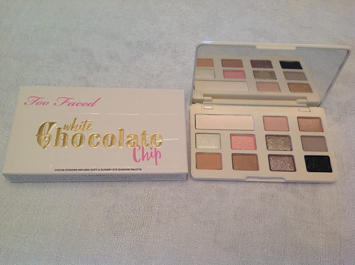 十億甘美なちょうつがいToo Faced Limited Edition White Chocolate Chip Palette