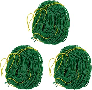 Yarnow 3pcs Trellis Netting Heavy Duty Garden Trellis Netting for Climbing Vine Plants Vegetables Clematis Cucumber
