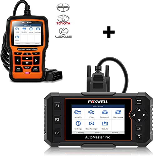 new arrival FOXWELL NT614 Elite OBD2 Scanner and popular NT510 Elite Bi-Directional Full Systems Scan Tool for Toyota online Lexus Scion online
