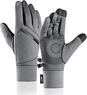 MAJCF Winter Gloves, Cold Weather Gloves Running Warm Gloves Men & Women