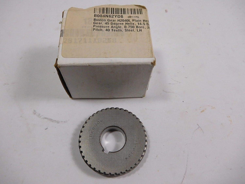 National uniform free shipping Boston Gear 18258 H2040L DIAMETRAL sale TEETH: 40 20 D.P. PITCH: