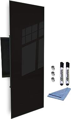 GlassArtist FMK-51-070 Boîte à clés avec façade en Verre magnétique 80 x 30 cm