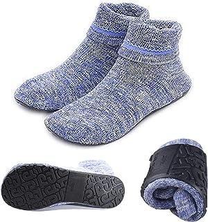 CLEO STYLE 1 paio//2 paia di morbide calze da casa Pantofole in ABS//calze con pelliccia di peluche 2761