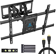 Full Motion TV Wall Mount Bracket Dual Articulating Arms...