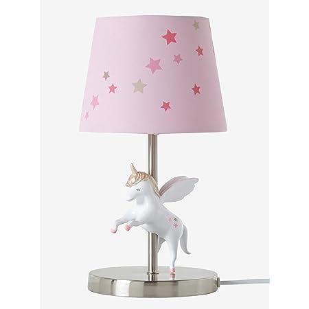 VERTBAUDET Lampe de chevet Licorne rose TU