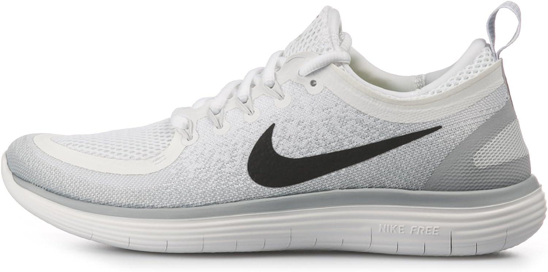 sentido daño vagón  Amazon.com   Nike Men's Free RN Distance 2, White/Black-Pure Platinum, 15M    Road Running