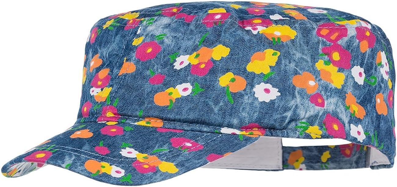 mit Pailetten Kappe 53//55 maximo M/ädchen Cap Kaktus Rosa Pink Rose//Navy 6448