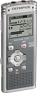 OLYMPUS ICレコーダー Voice-Trek 4GB リニアPCM対応 GRY グレー V-75